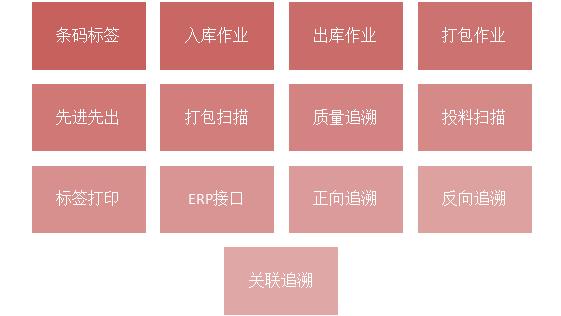 SAP系统条码质量追溯软件